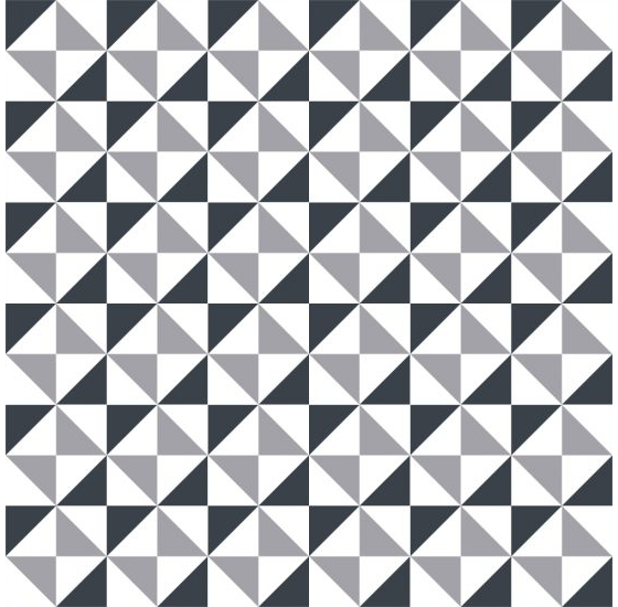 cement tiles triangles classic