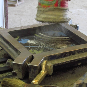 production of cement tiles by tamuda