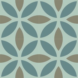 cement tiles lleaves nature
