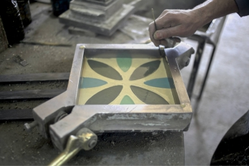 production process of cement tiles by tamuda