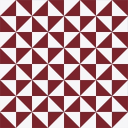 cement tiles triangles fire